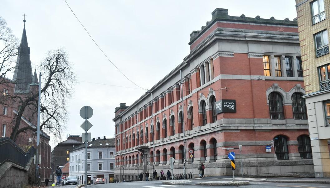 45 elever er koronasmittet ved Edvard Munch videregående i Oslo.