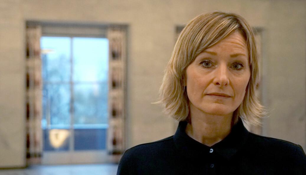 Inga Marte Thorkildsen måtte svare på kritikk om dialogen med Oslos rektorer.