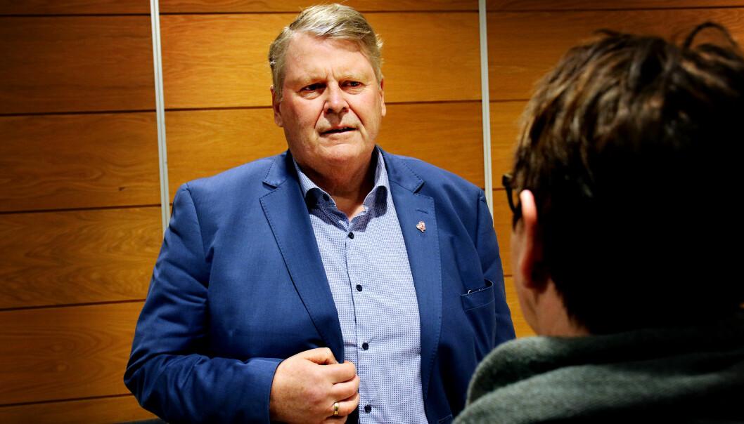 Hans Fredrik Grøvan, KrF, ble vraket i Agder.