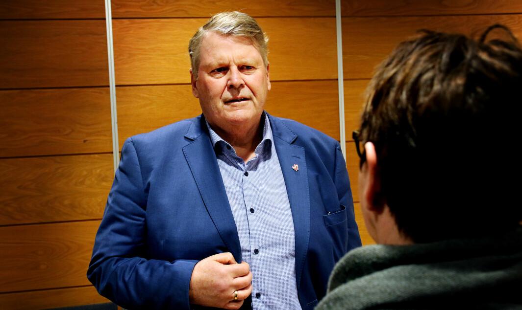 Hans-Fredrik Grøvan, utdanningspolitisk talsperson for KrF etterlyser at statsforvalterne gjør flere tilsyn med lærernormen.