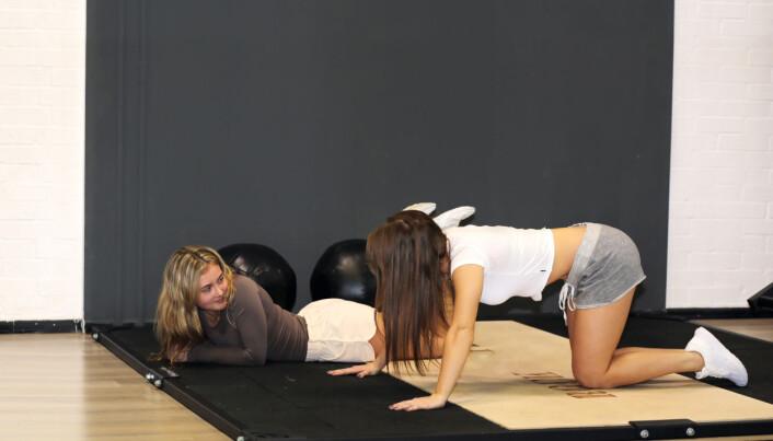 To og to sammen. Typisk treningsform er at den ene arbeider mens den andre hviler.