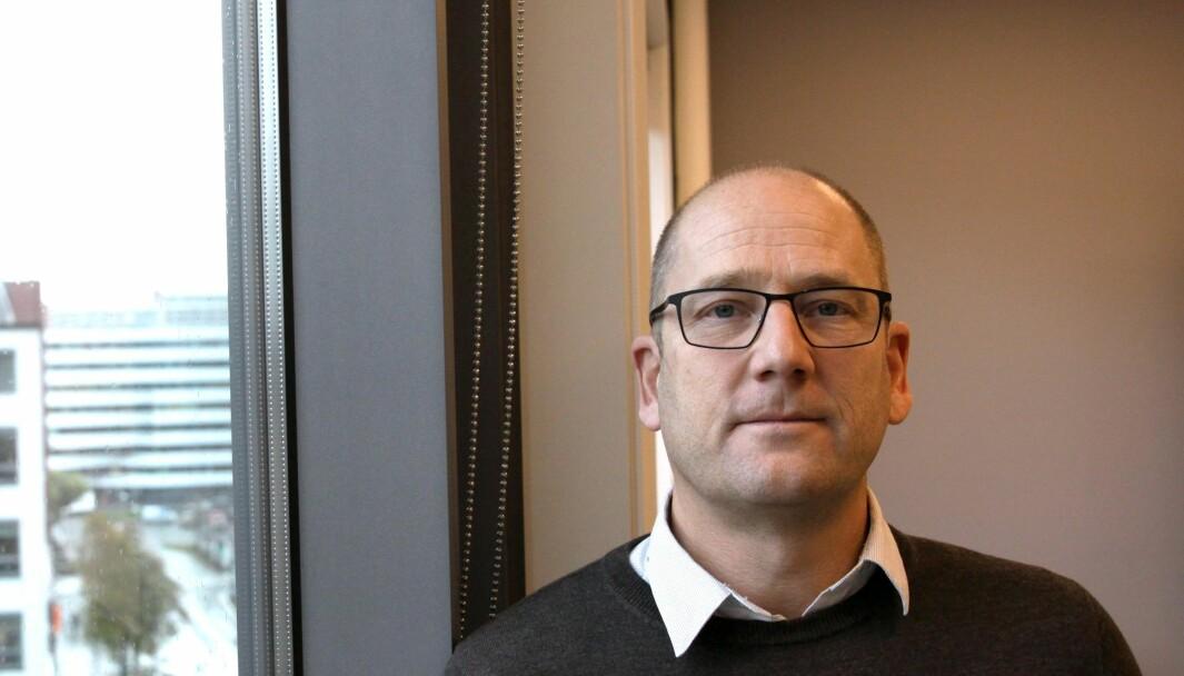 Steffen Handal forventer en heftig debatt rundt bruk av læremidler i tiden framover, med utgangspunkt i hvordan kommersielle aktører fra inn- og utland påvirker de valgene lærerne gjør. Foto: Tore Brøyn/Bedre Skole