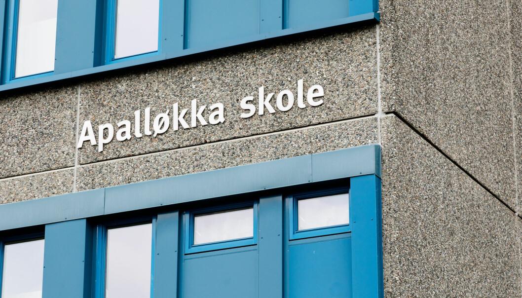 50 elever og lærere ved Apalløkka skole har fått påvist koronasmitte.