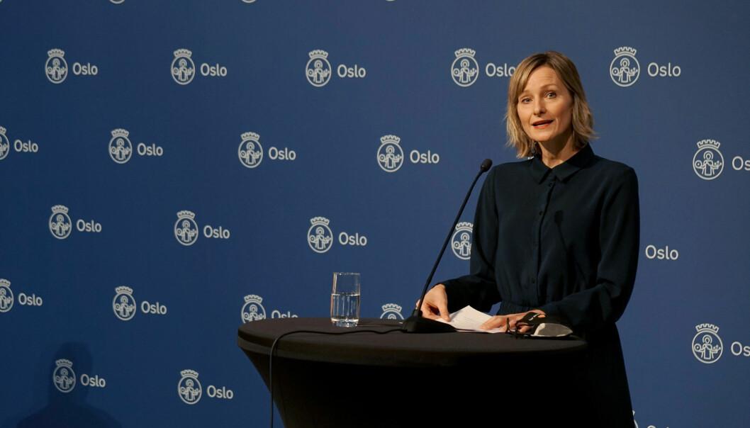 Inga Marte Thorkildsen har bedt om svar på om rødt nivå fører til færre i karantene.