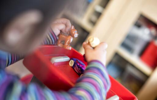 Barnehageansatte i Norge bruker mer tid sammen med barna enn ansatte i andre land