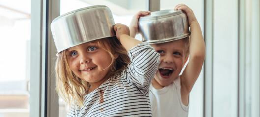– Jeg tror barn vil leke mer enn de faktisk gjør