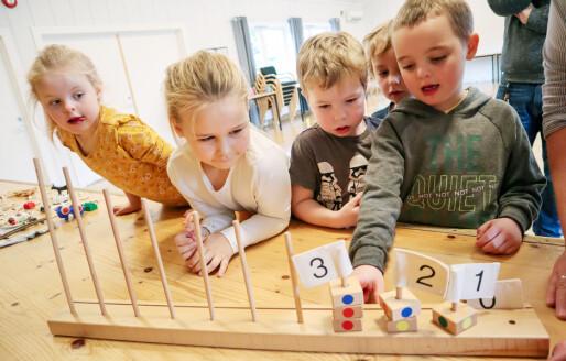 Vil gjøre barna tryggere på tall før skolestart