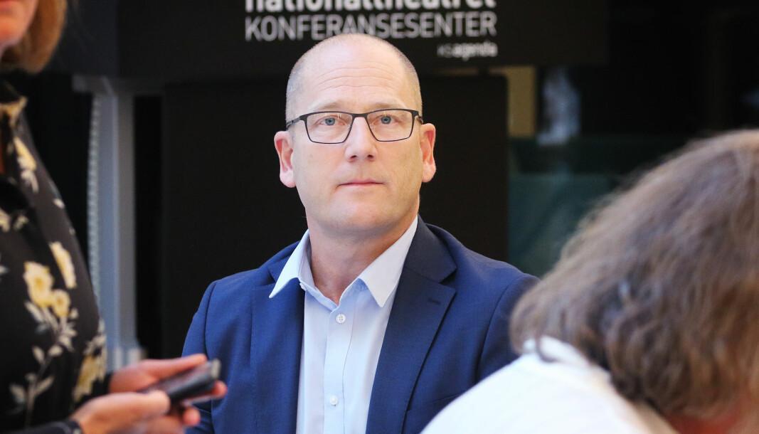 Leder i Utdanningsforbundet Steffen Handal og leder i Lektorlaget, Rita Helgesen, reagerer sterkt på at lærerne er representert i ekspertgruppa som skal se på eksamen 2021.