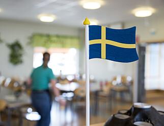 Lærerforbundene i Sverige ber om at lærere prioriteres for vaksine