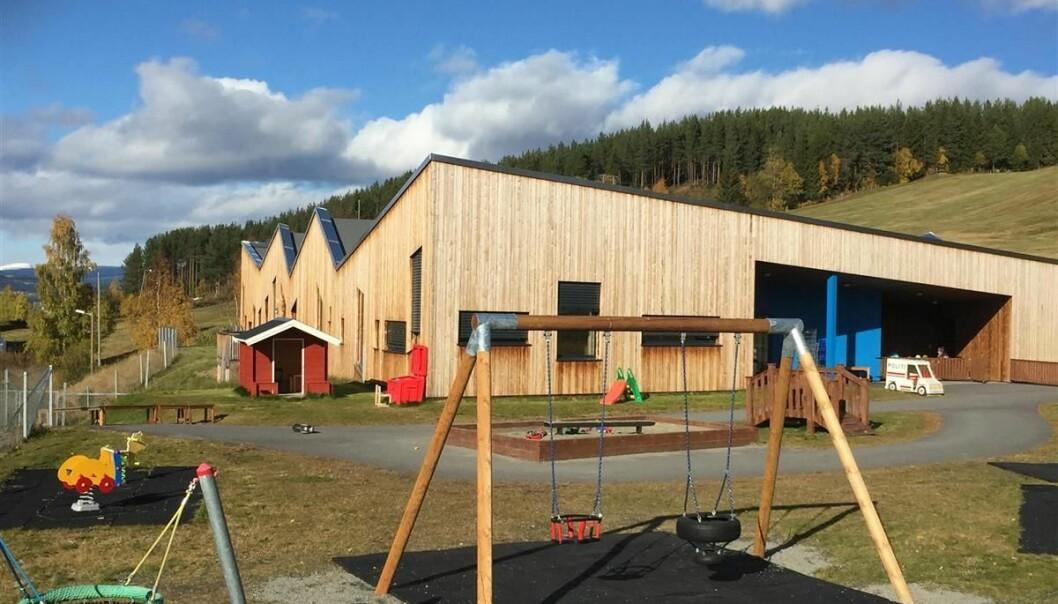 Rogne barneahage i Øystre Slidre kommune.