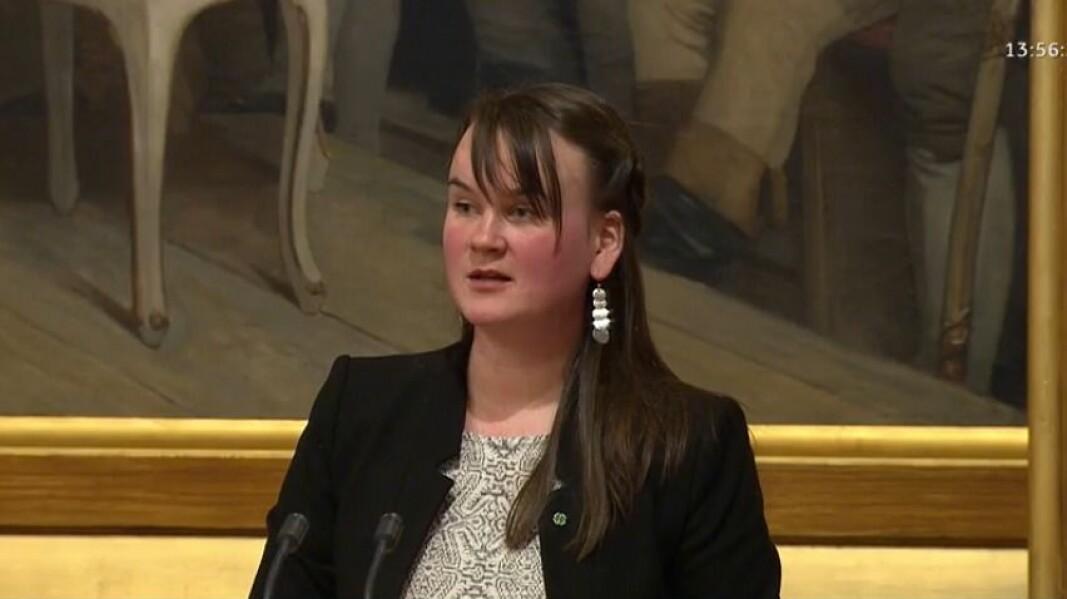 Senterpartiets Marit Knutsdatter Strand.
