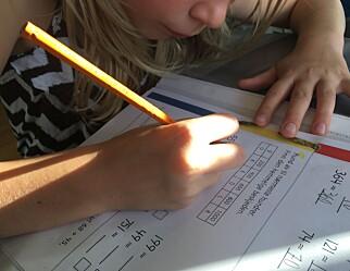 Dårligere matematikkresultat trass flere timer