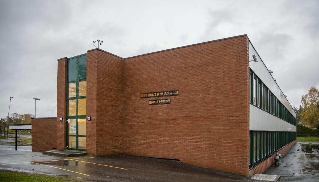 Skolene i Porsgrunn og Skien, deriblant Stigeråsen skole, er på rødt nivå etter ny smitterkord.