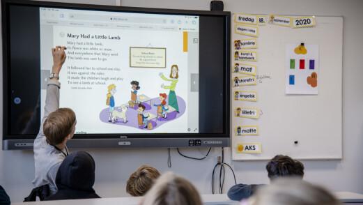 Flere assistenter, færre førsteklassinger og mindre bruk av ukvalifiserte lærere