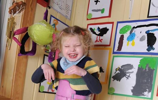 Ellinor fikk eget rom og spesialpedagog i barnehagen