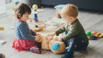 Toåringer utvikler vennskap i lek og er tydelige på hvem de vil leke med eller ikke