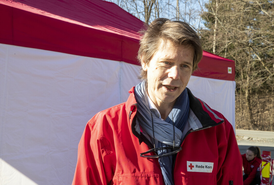Generalsekretær i Røde Kors, Bernt G. Apeland
