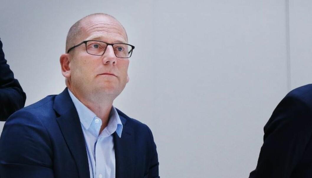 Leder i Utdanningsforbundet, Steffen Handal.