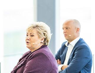 Solberg gyver løs på Senterpartiets skolepolitikk