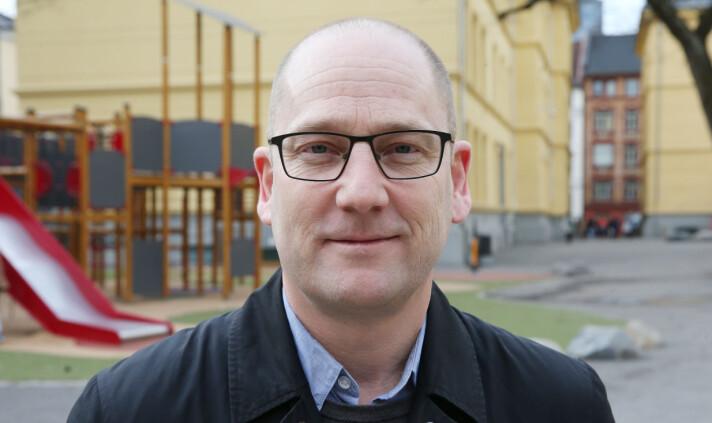 Leder av Utdanningsforbundet, Steffen Handal.