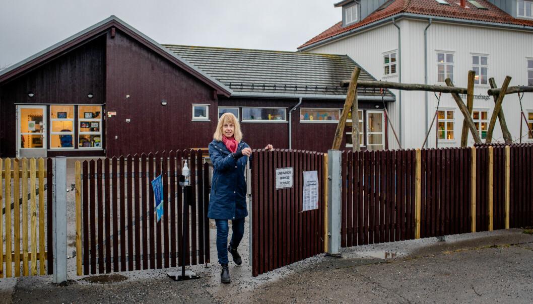 – Jeg savner å være i nærmere kontakt med barnehager og skoler, sier Merete Høgvall.