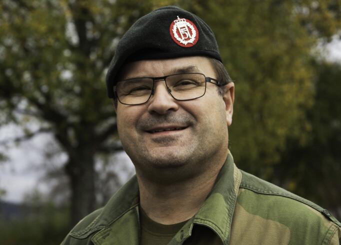 Major Jan Inge Hansen er sjef for Opplæringskontoret for Forsvaret og administrerer virksomheten fra Harstad