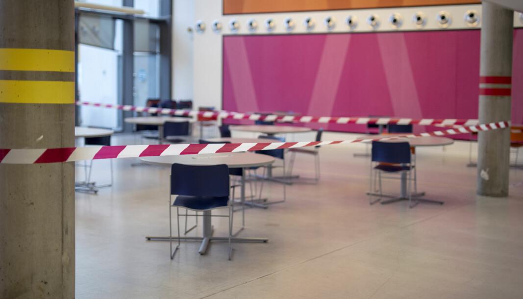 Skoler og universiteter må være forberedt på rødt nivå også etter 19. januar.