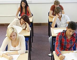Danmark vurderer å droppe eksamen