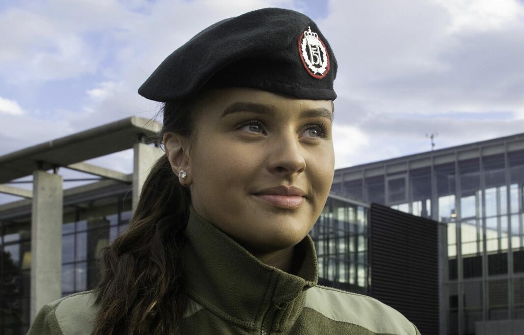 Erika (20) er akkurat den lærlingen Forsvaret vil ha