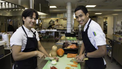 Daniel og Chitiphat vant kokkekamp, og da ble det moro