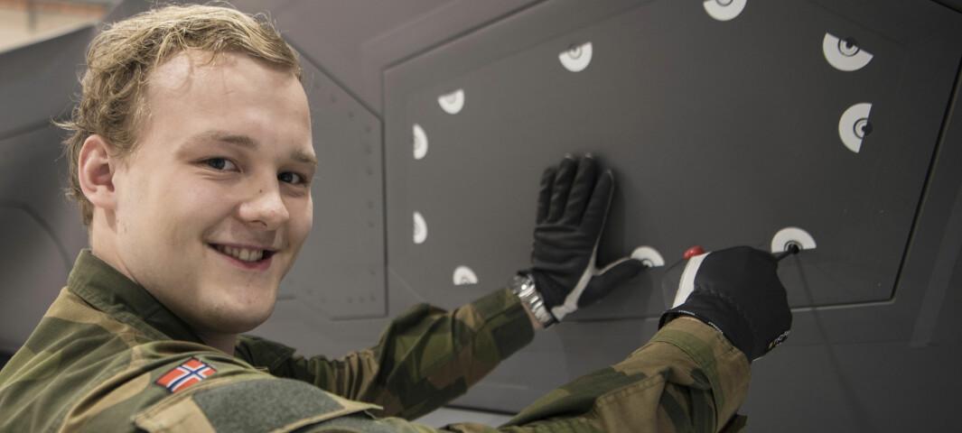 Ruben og Robin tar seg av de «fyldige damene» – F35 er de kuleste flyene