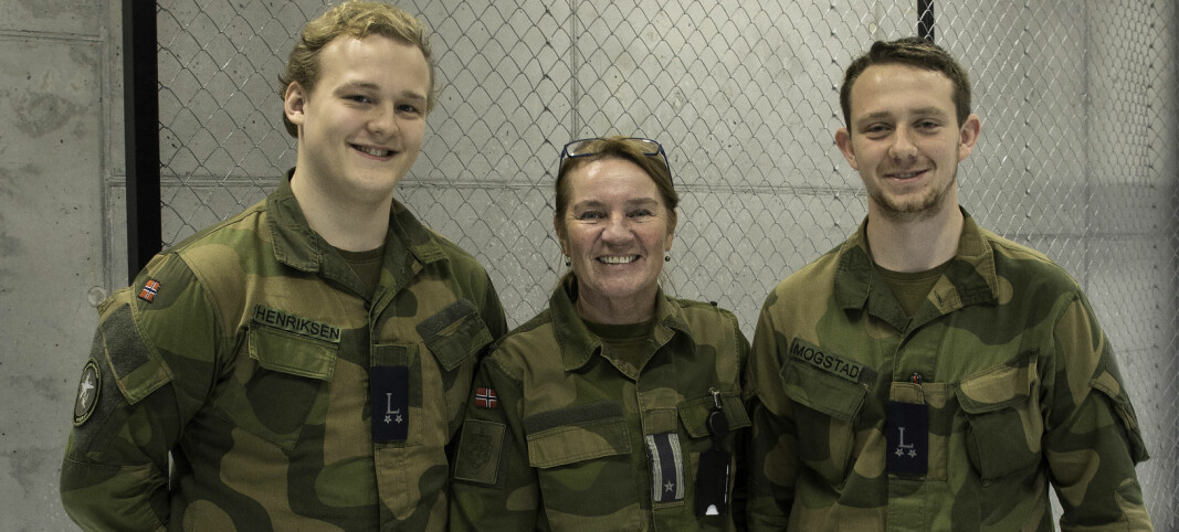 Ikke enkelt å være jente i Forsvaret da Hild begynte der for 35 år siden
