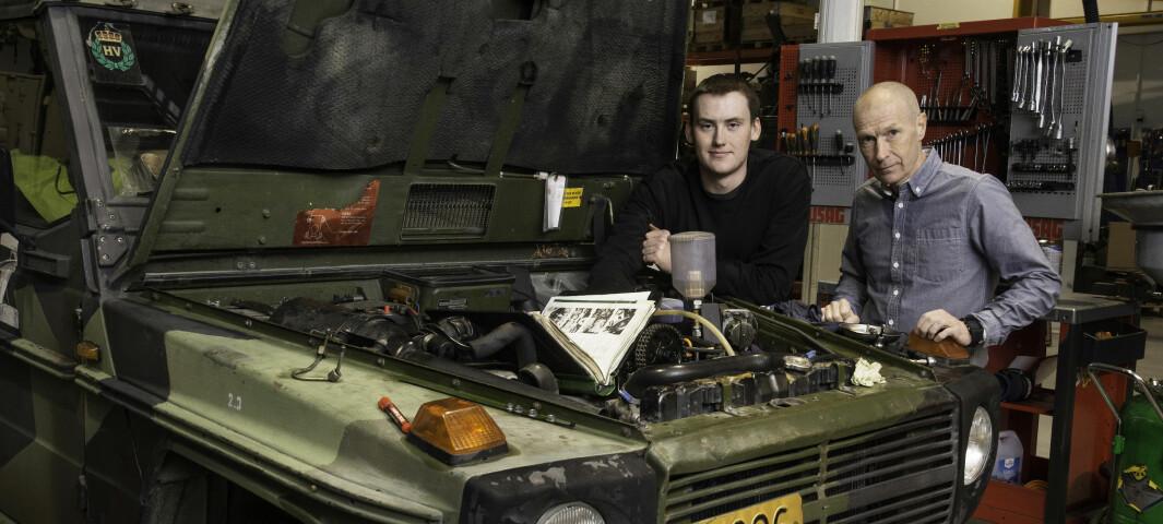 Henning Aasen oppforder de som er i tvil til å velge yrkesfag