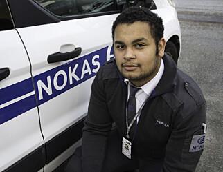 Nicklas tar fagbrevet for sikkerhets skyld