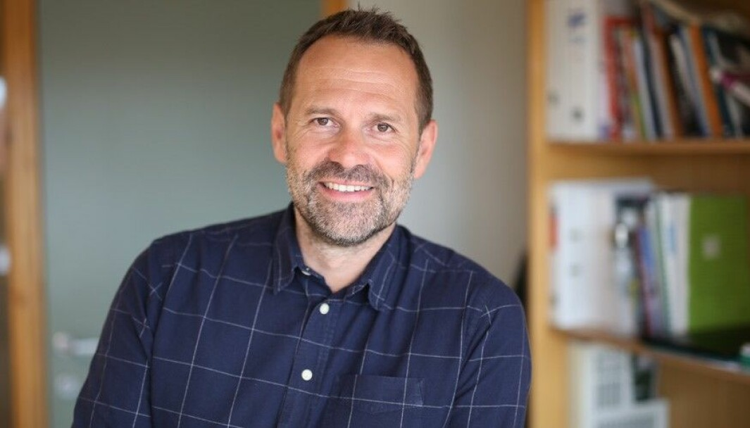 Rektor på Ole Vig, Arild Ofstad.