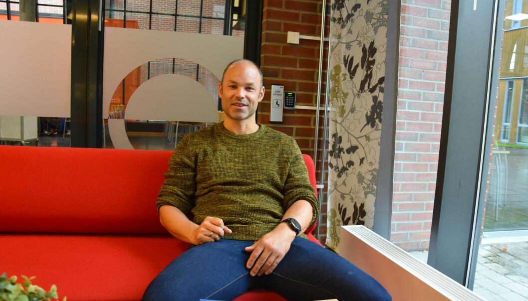 Ole Morten Hammer er opptatt av å nå nye elever.