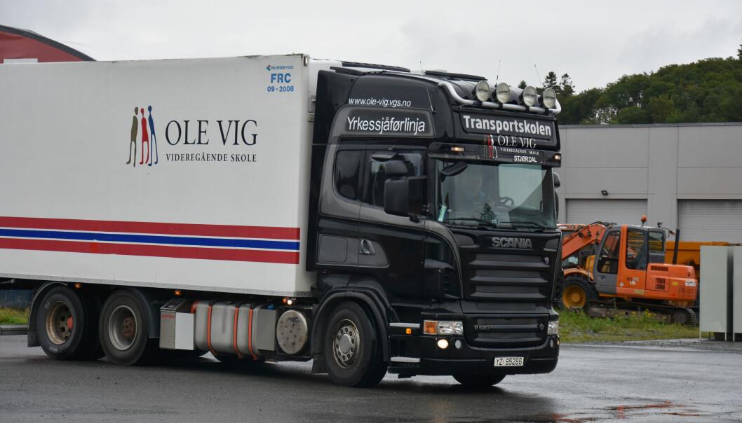Ole Vig utdanner blant annet yrkessjåfører