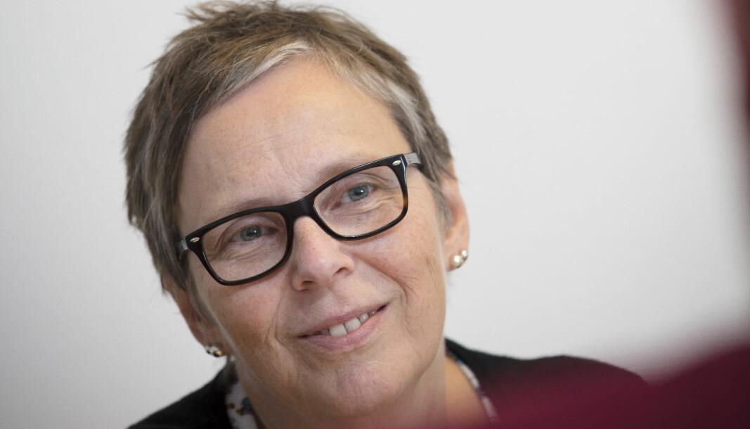 Rektor ved Halden videregående, Marit Kristin Støten, er positiv til fagfornyelsen.