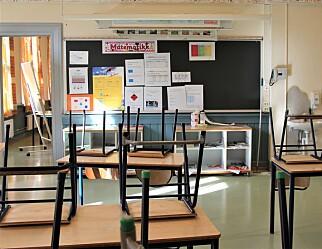 Over halvparten av lærerne har vurdert ny jobb