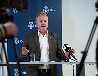 Raymond Johansen: Oslofolk må være forberedt på fortsatt strenge koronatiltak