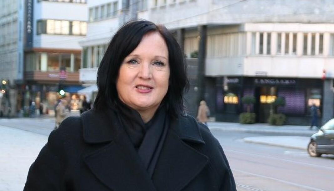 Leder i Utdanningsforbundet i Oslo, Aina Skjefstad Andersen.