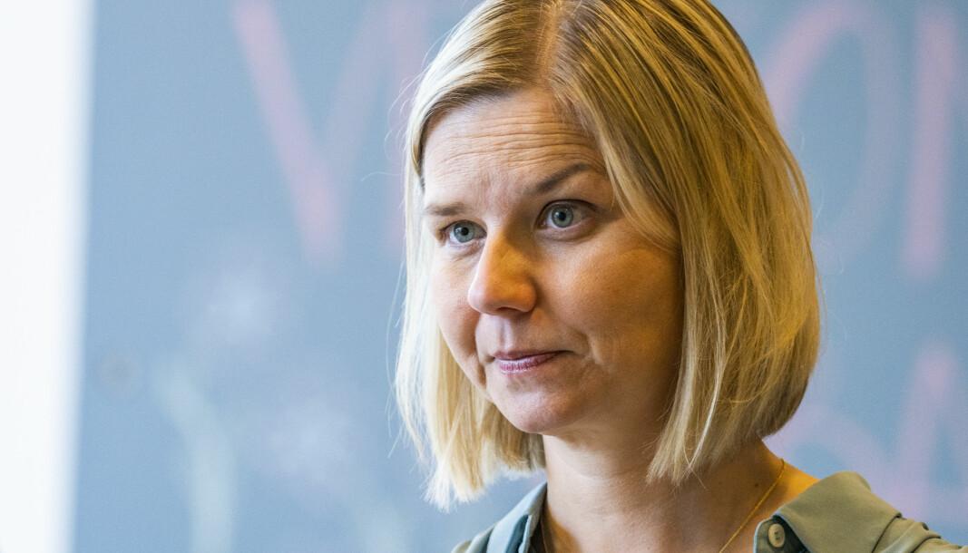 Kunnskapsminister Guri Melby åpner for mer bruk av hjemmeskole.