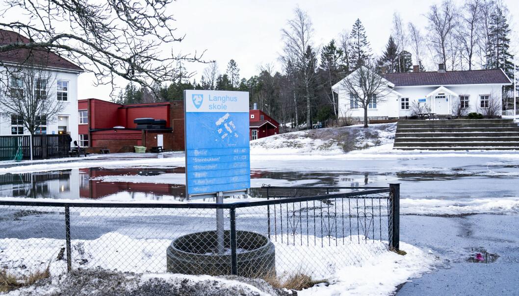 Alle skoler i Nordre Follo er satt på rødt nivå.