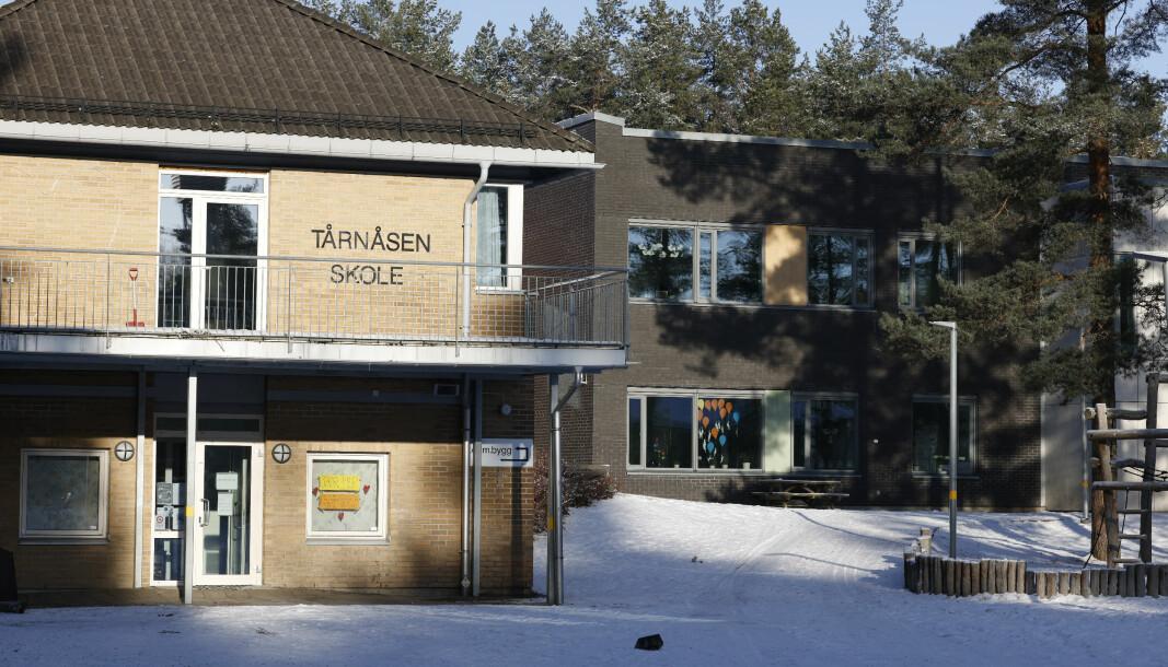 Utbruddet ved Tårnåsen skole i Nordre Follo viste seg i ettertid ikke å handle om den muterte varianten.