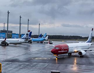 Flyreiser er UDFs største klimasynd
