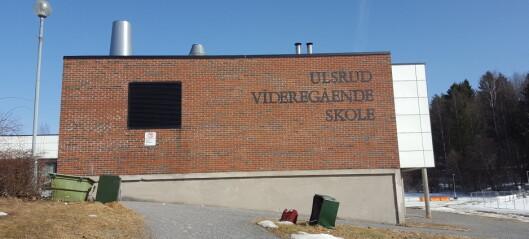 Videregående skoler i Oslo på rødt nivå også i neste uke