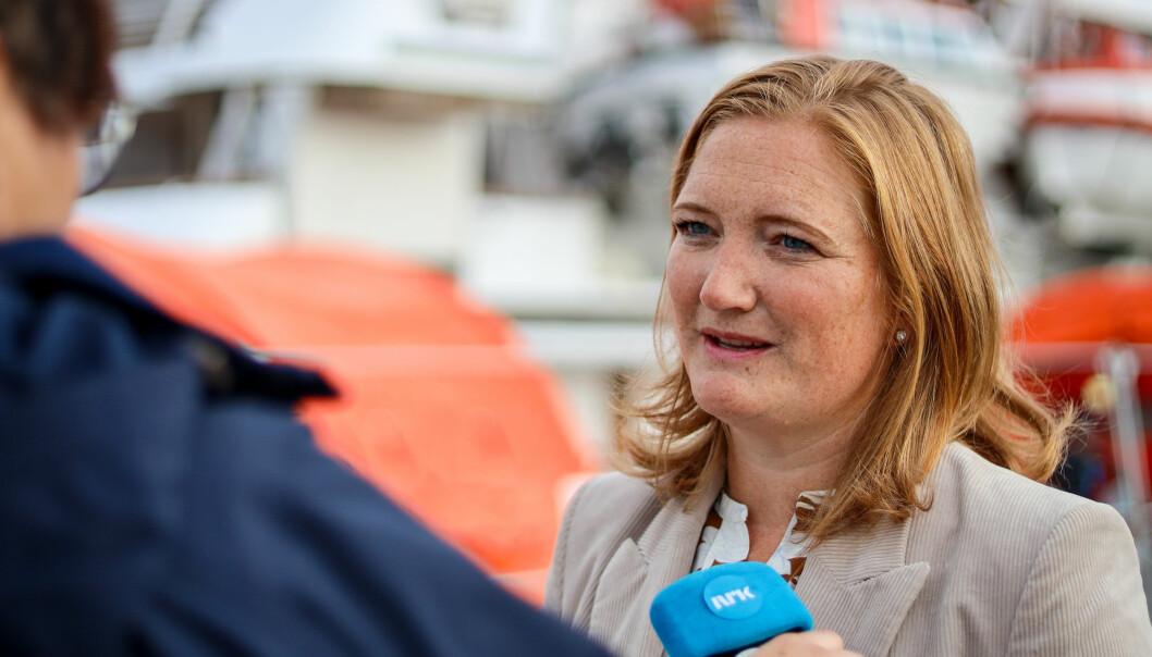 Ordfører i Bodø, Ida Maria Pinnerød.