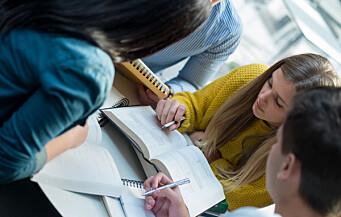 Lærerstudentene er minst tilfredse med studiene