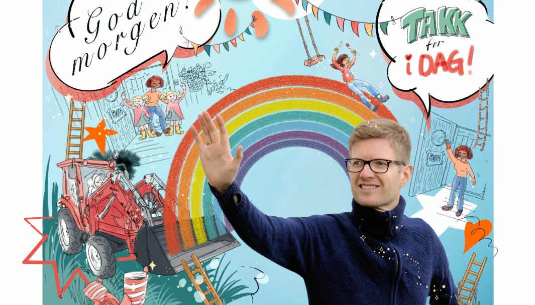 Foreldrene opplevde at de fikk bedre kontakt med de ansatte i barnehagen under koronatiden, og satte pris på at de samme ansatte var med barna hele dagen, forteller leder Einar Olav Larsen i Foreldreutvalget for barnehagen (FUB).