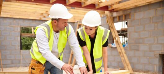 Oslo kommune ønsker flere jenter i byggebransjen